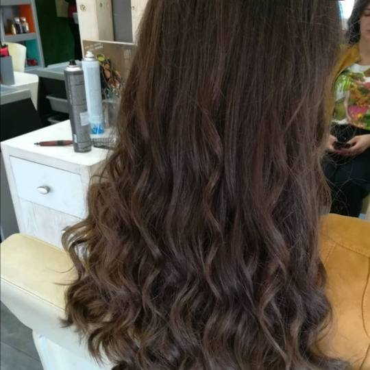 Alex #podgorica Feniranje i stilizovanje Feniranje na ravno / lokne - duga kosa