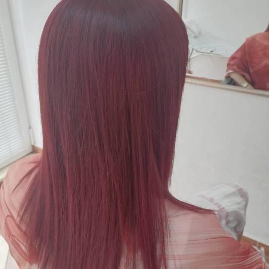 Alex #podgorica Farbanje kose Farbanje cijele dužine - kosa srednje dužiine